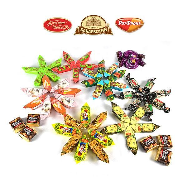 Chocolate Candy Set Assortment MOSCOW, 2 lbs / 0.90 kg