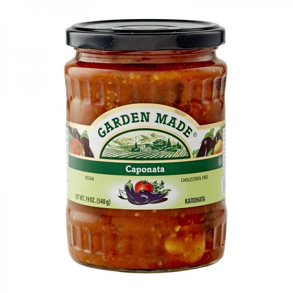 Caponata Vegan Garden Made, 19 oz/ 540 g