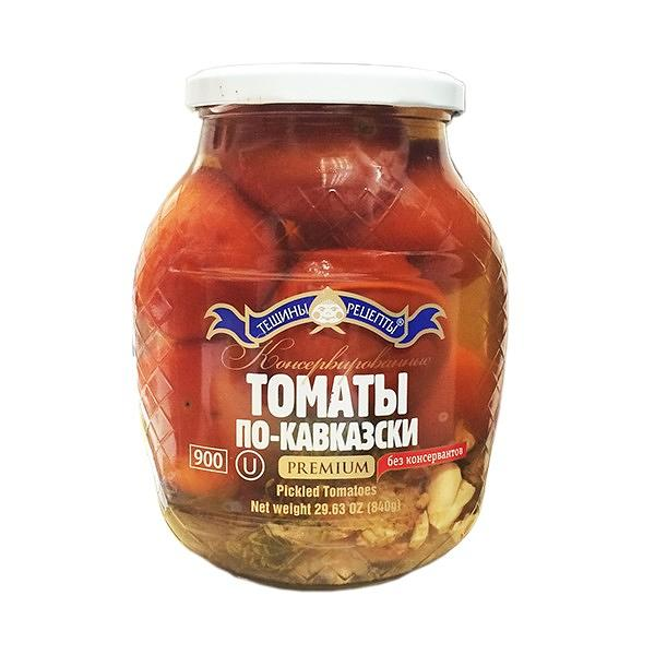 Marinated Tomatoes in Caucasian Style, Teshcha's Recipes, 900 g