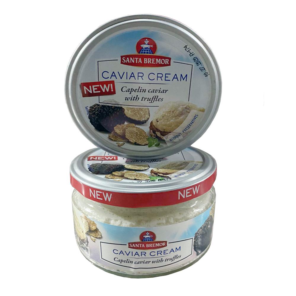 Capelin Caviar Cream w/ Truffle, 0.4lb/ 180g