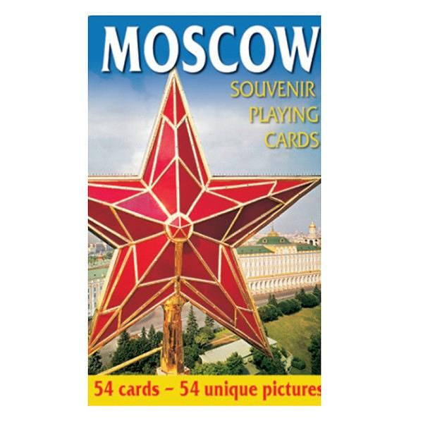 Souvenir Playing Cards with Moscow Views, 54 cards