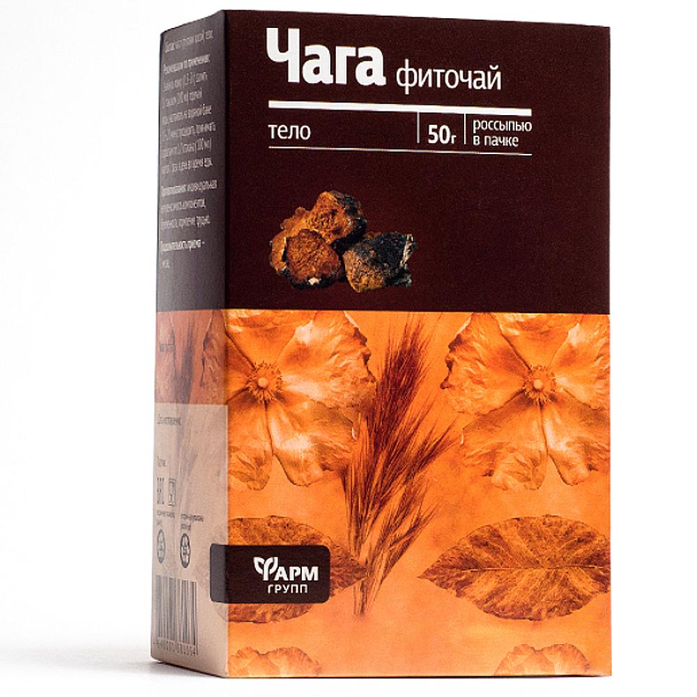 Birch Fungus Chaga, Farm Group, 1.76 oz/ 50 g