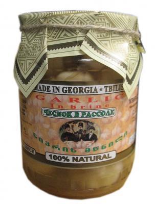 Garlic in Brine Georgian Style, 25.39 oz/ 720 g