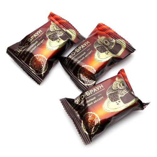 Shoko-Brown Glazed Candies, Sladunitsa, 226 g/ 0.5 lb