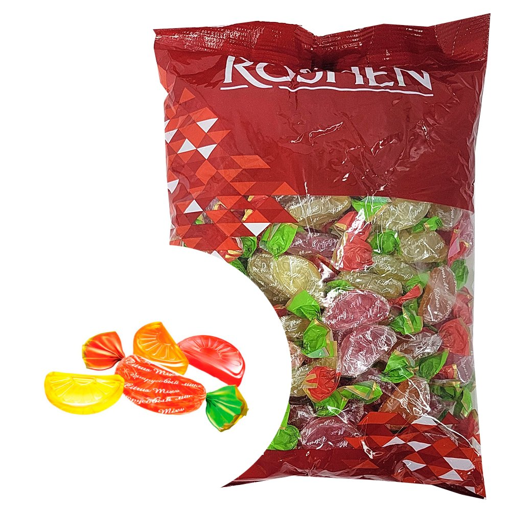Caramel Candy Mix, Roshen, 1 kg/ 2.2 lbs