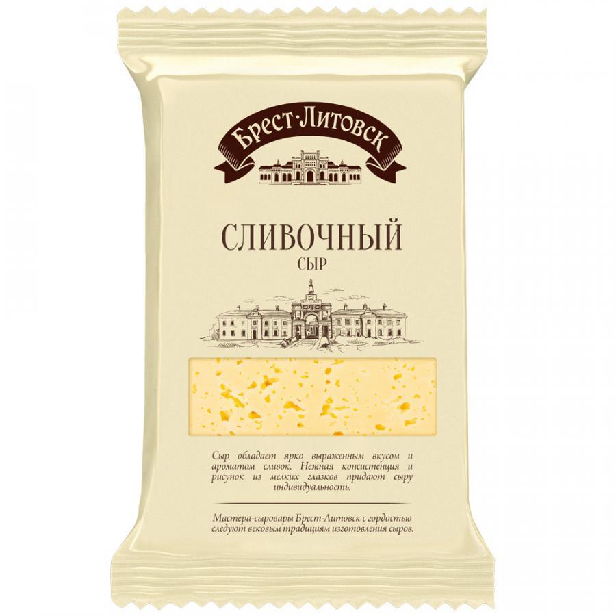 Semi-hard Cream Cheese 50%, Brest-Litovsk, 200 g/ 0.44 lb