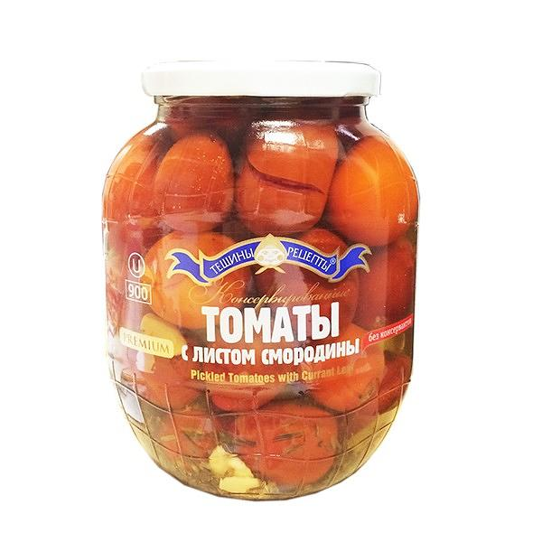 Marinated Tomatoes with Black Currant Leaf, 15.18 oz / 440 g