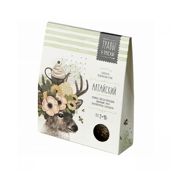 Altai Herbal Tea (Herbs & Bees), 2 x 40 g (1.41 oz)