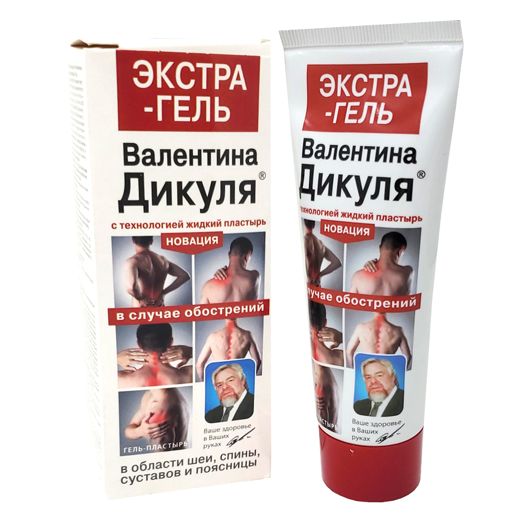 Gel-Patch for Body Extragel V. Dikul, Fora-Farm, 75 ml/ 2.54 oz