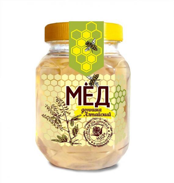 Natural Altai Clover Honey, 10 58 oz / 300 g