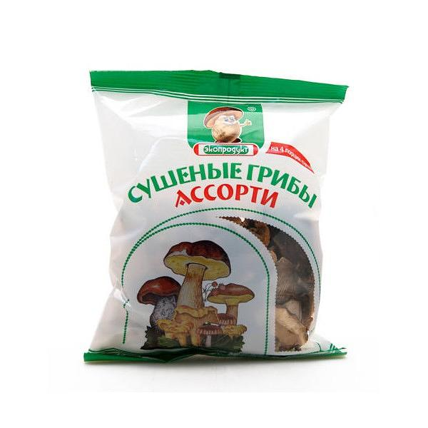 Dried Assorted Mushrooms, 1.77 oz / 50 g (Ecoproducts)