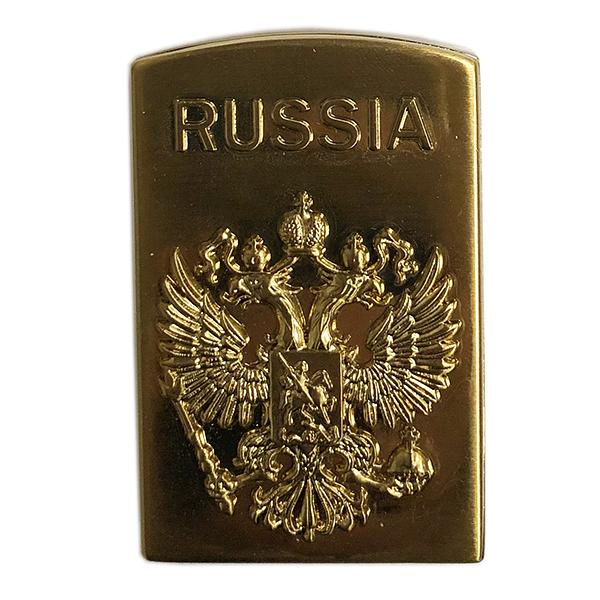 """Electronic Lighter with Russian Federation Coat of Arms, 2.25""""  (USB charger)"""