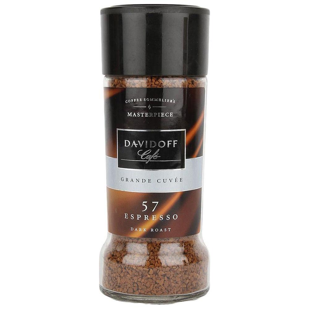 Davidoff Cafe 57 Espresso Dark Roast, 3.5 oz / 100 g