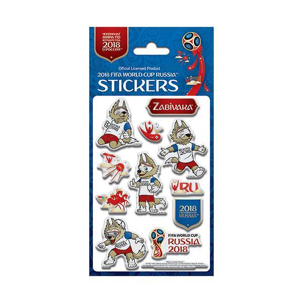 Zabivaka Stickers 2018 FIFA World Cup Russia Mascot