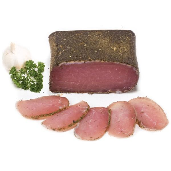 Filet Elena - Dry Cured Pork Loin with Savory 0,5lb