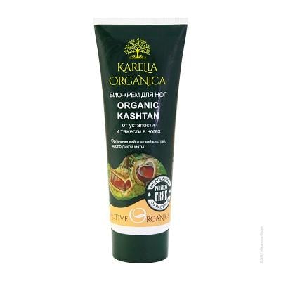 Organic Foot Cream «Organic Chestnut» for Tired Legs, 2.54 oz / 75 ml