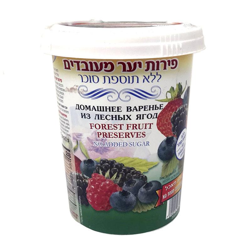 Forest Berry Confiture No Sugar, 17.63 oz / 500 g