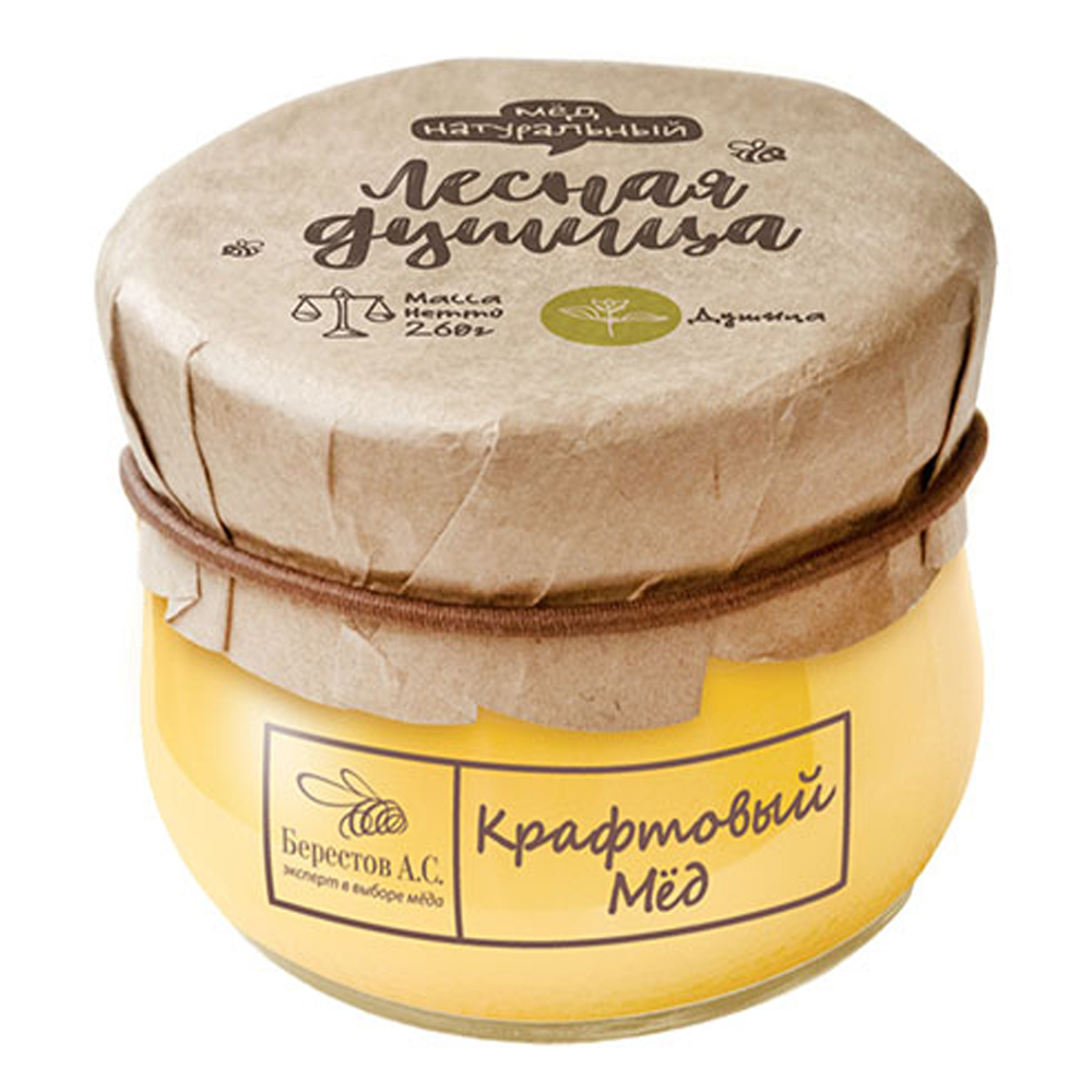 Сraft Honey Forest Oregano, Berestov, 260 g/ 0.57 lb