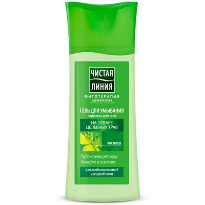 Gel Cleanser with Celandine and Lemon Balm for Oily and Combination Skin, 3.38 oz/ 100 Ml