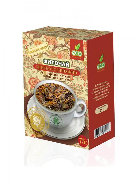 """Herbal Phyto Tea """"Gynecology"""" with Boron Uterus, 2.64 oz / 75 g"""