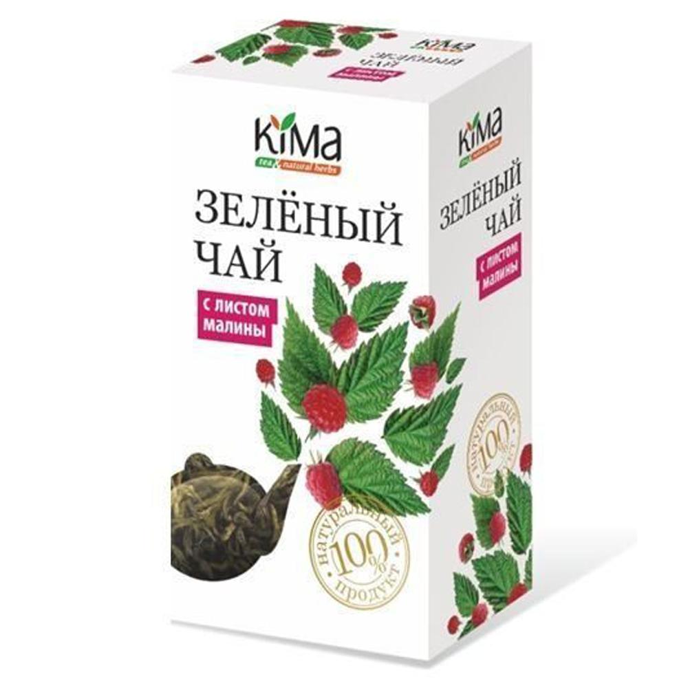 Green Leaf Tea w/ Raspberry Leaf, KIMA, 75 g/ 0.17 lb