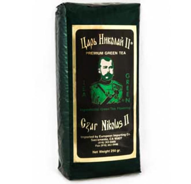 Tea Czar Nicholas II Premium (Green), 8.8 oz / 250 g