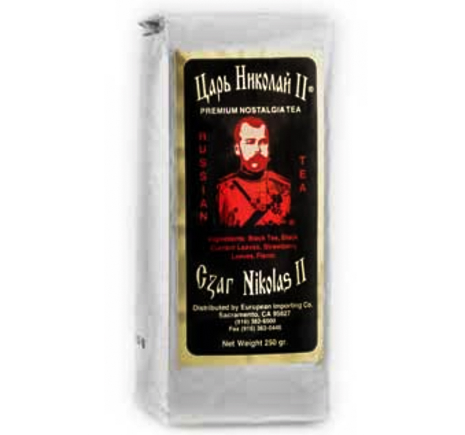 Tea Czar Nicholas II Nostalgia (Silver), 8.8 oz / 250 g