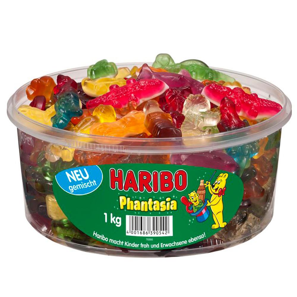 Gummi Candy Haribo Phantasia Box, 2.2 lb/ 1kg
