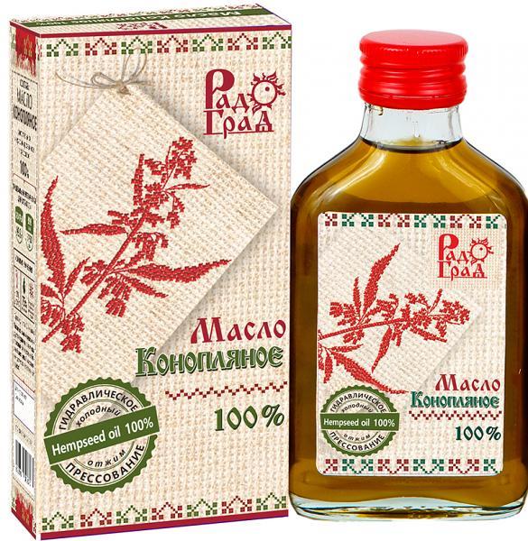 Hemp Seed Oil, Radograd, 3.5 fl oz / 100 ml