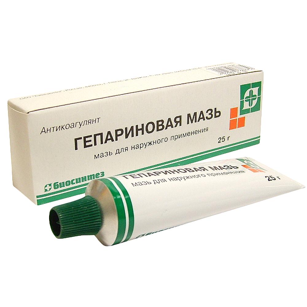 Heparin Ointment, 0.88 oz/ 25 g