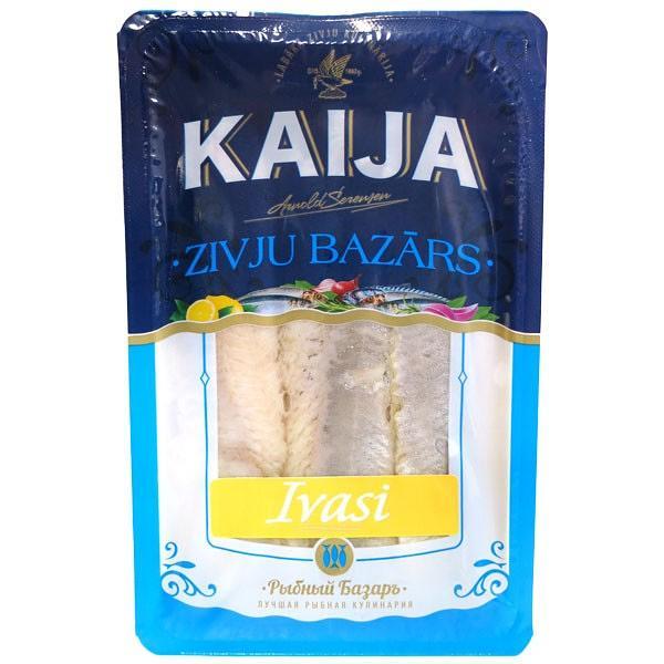 Traditional Herring Ivasi Fillet, 17.63 oz / 500g (Tray /Kaija)