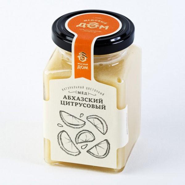 Natural Citrus Abkhazian Honey, 11.28 oz / 320 g