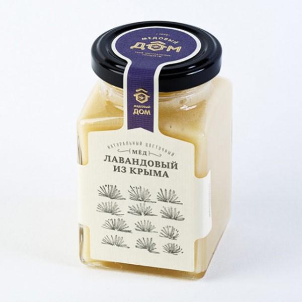 Natural Lavender Honey from Crimea, 11.28 oz / 320 g