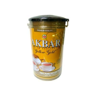 Akbar Yellow Gold Tea in Tin Box, 15.87 oz / 450 g