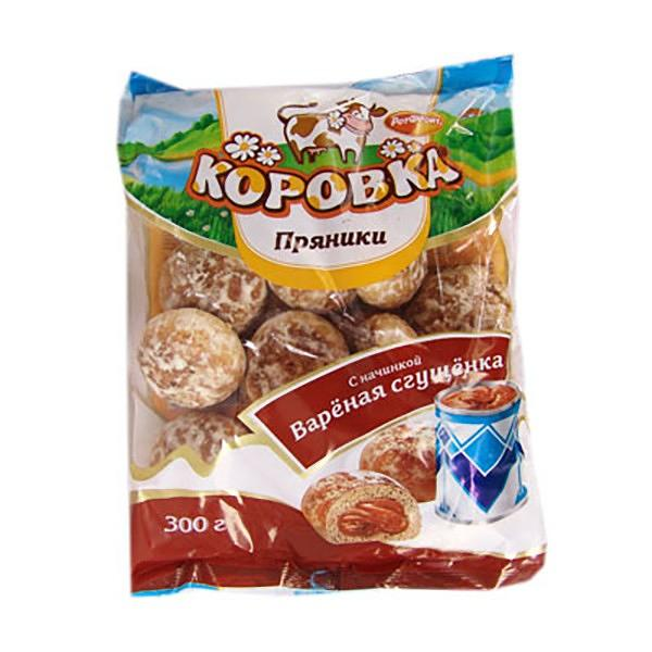 Korovka Gingerbread with Condensed Milk Filling, 10.58 oz/ 300 g