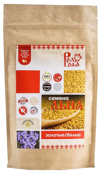 Flax Seeds, Radograd, 7.05 oz / 200 g