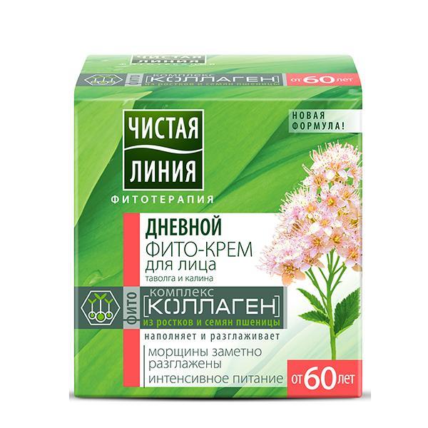 Day Face Phyto Cream with Spirea and Viburnum (+60), 1.52 fl oz / 45 ml