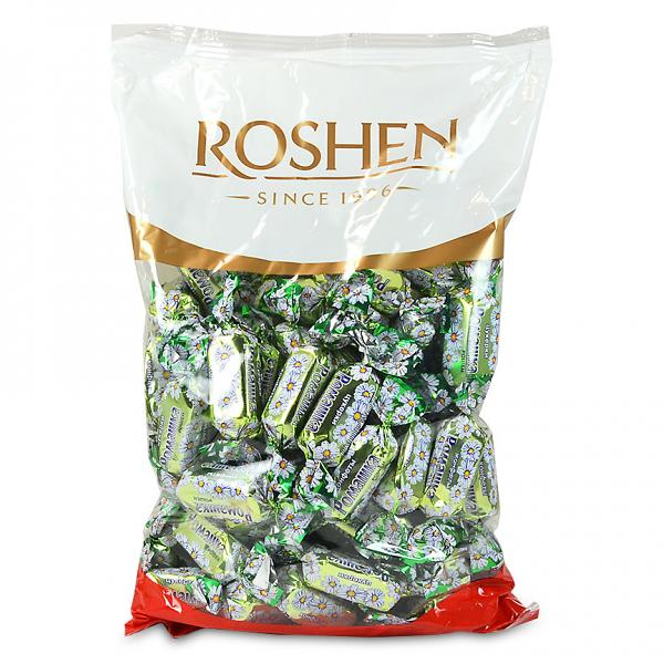 Roshen Gourmet Camomile Chocolate Candy, 2.2 lbs/ 1 kg