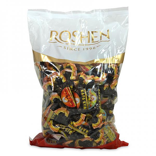Roshen Gourmet Kara Kum Chocolate Candy, 2.2 lbs/ 1 kg