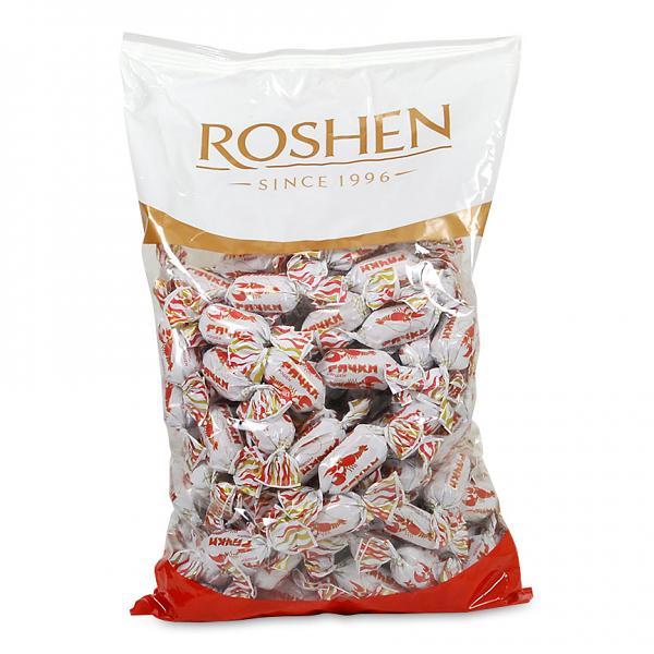 Roshen Gourmet Crawfish Tails Caramel Candy, 2.2 lbs / 1 kg