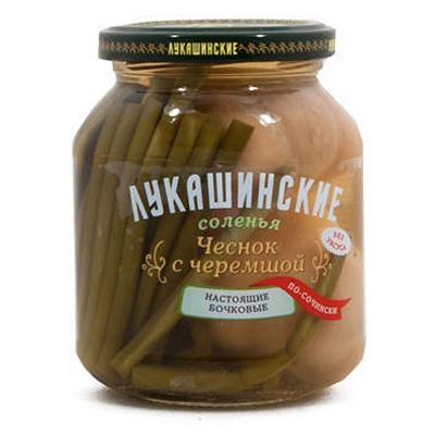 Pickled Wild Garlic, Lukashinskie, 12 oz /340 g