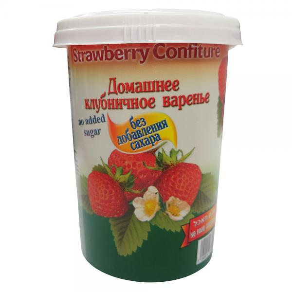 Homemade Style Strawberry Confiture without Sugar, 17.6 oz / 500 g