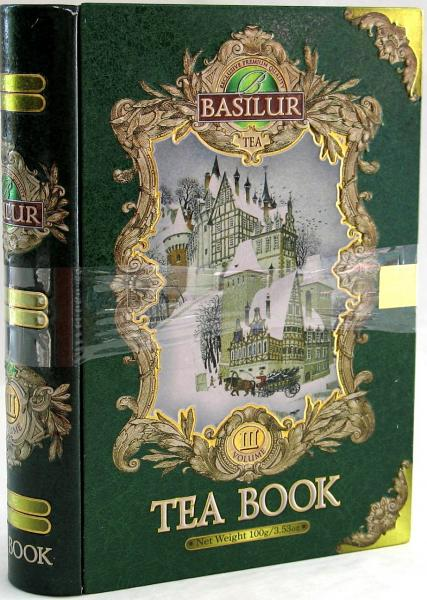 Basilur Gift Tea Book #3, 3.53 oz / 100 g