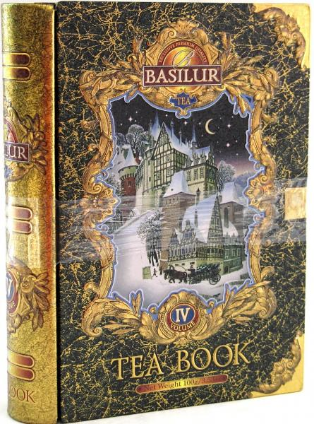 Basilur Gift Tea Book #4,  3.53 oz / 100 g