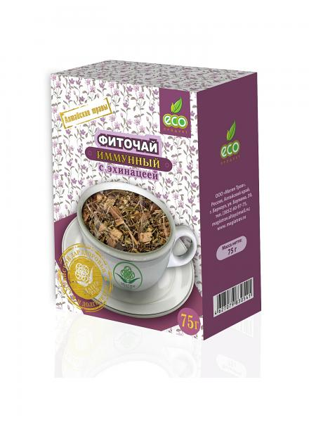 Herbal Immune Phyto Tea with Echinacea, 2.64 oz / 75 g