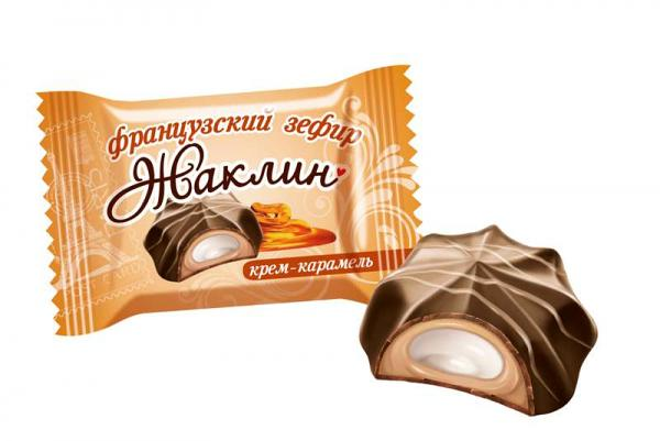 """Jacqueline French Marshmallow"" Creme Caramel, 0.5 lb / 0.22 kg"