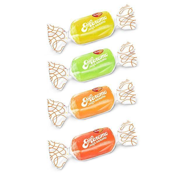 "Jelly Candy Mix ""Jelato-Marmelatto"", 0.5 lb / 0.22 kg"