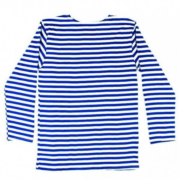Children's Russian Blue Telnyashka Long Sleeve T-Shirt, 32-34