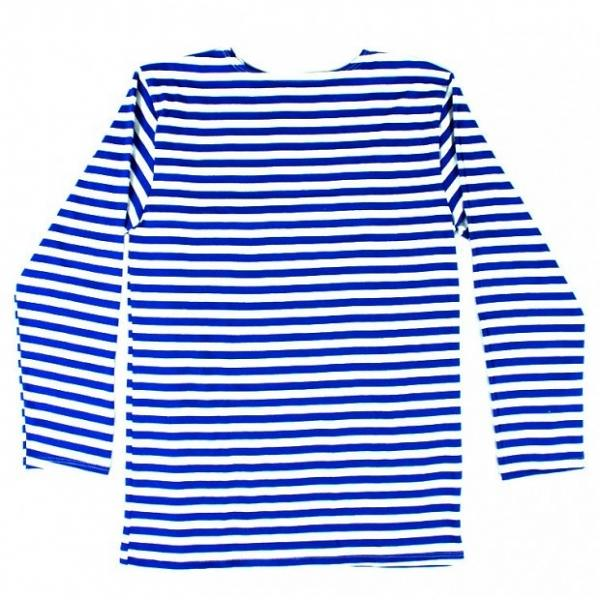 Children's Russian Blue Telnyashka Long Sleeve T-Shirt, 24-26