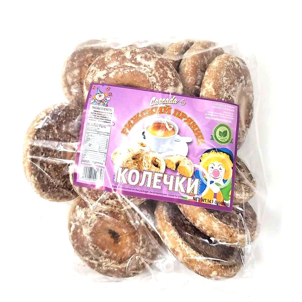 Gingerbread Rings, Cascada, 0.88 lb/ 400 g